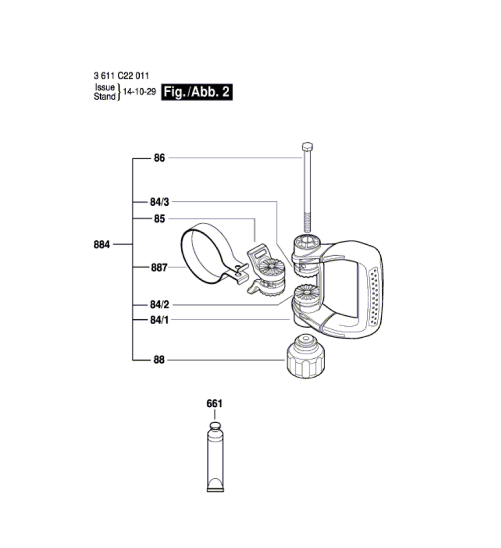 DH712VC-(3611C22011)-Bosch-PB-1Break Down