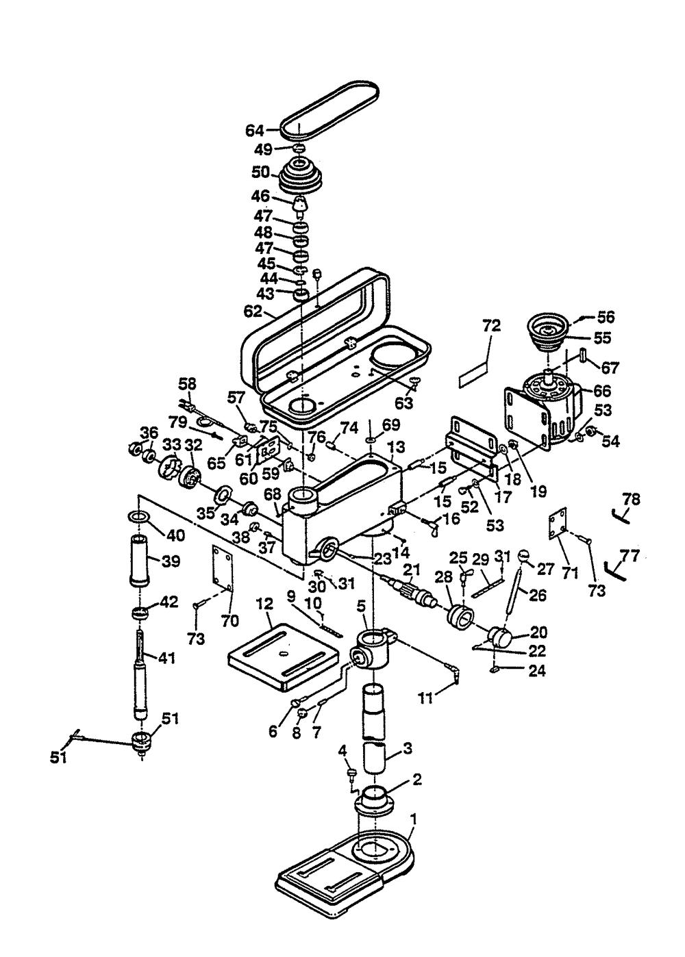 buy ryobi dp100 replacement tool parts