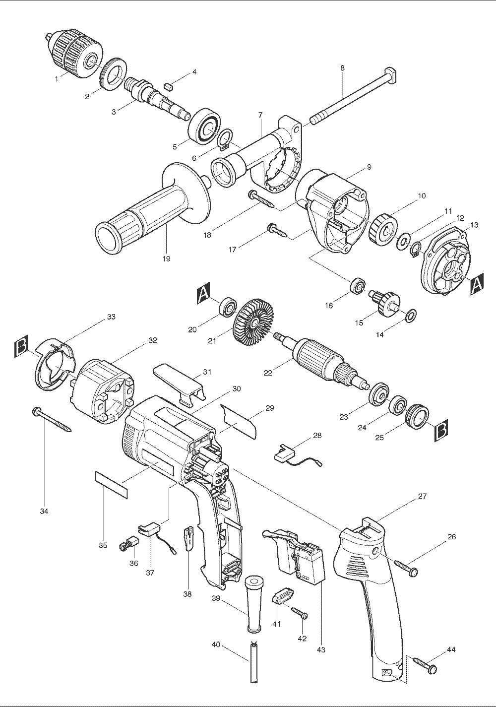 buy makita dp3003 replacement tool parts