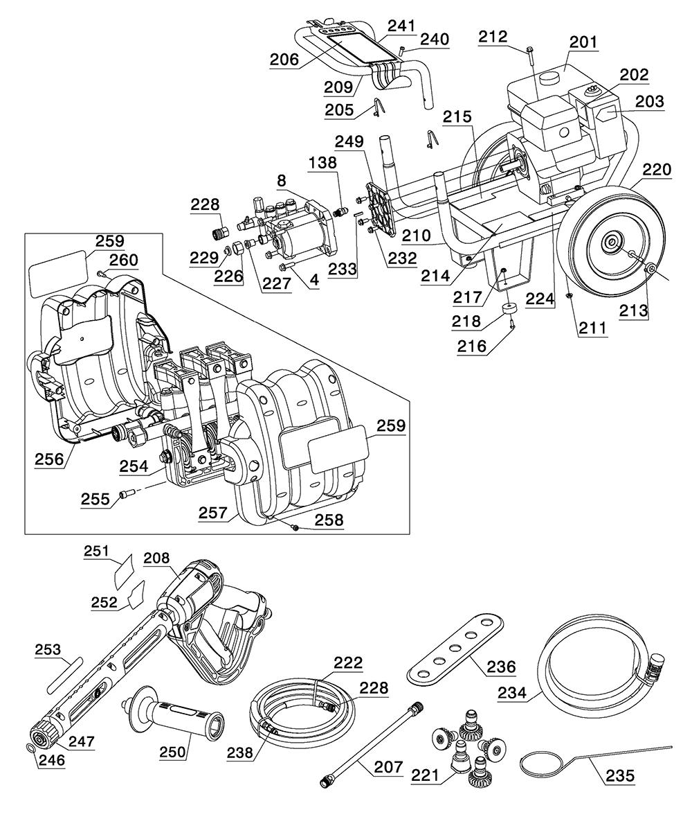 DP3100IC-Dewalt-T2-PB-4Break Down