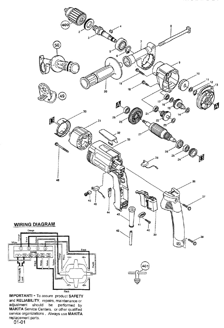 DP4000 makita PB makita 9227c wiring diagram makita 9227c rotary polisher \u2022 free makita 2703 switch wiring diagram at crackthecode.co