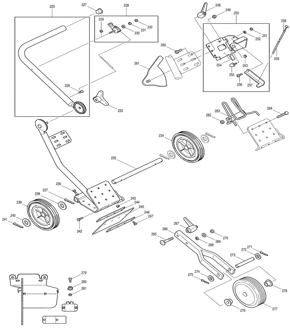 Makita-DPC6400-653-PBBreak Down