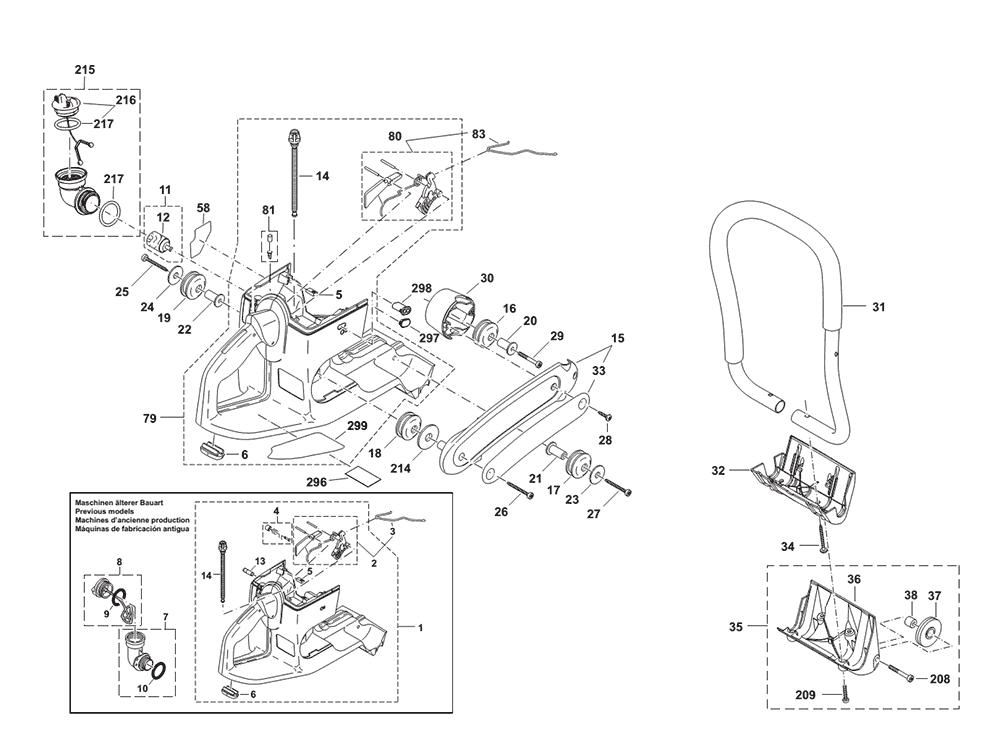 buy makita dpc7341 14 u0026quot  power cutter  20mm arbor  replacement tool parts