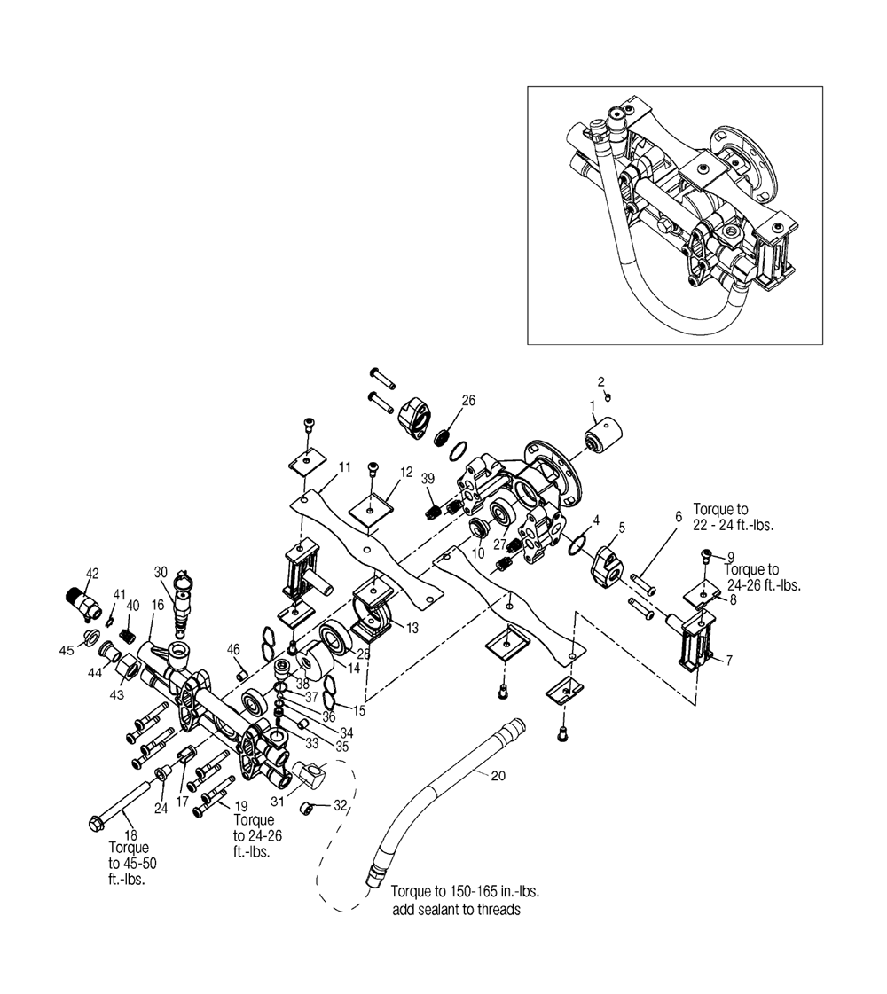 ridgid pressure washer parts diagram
