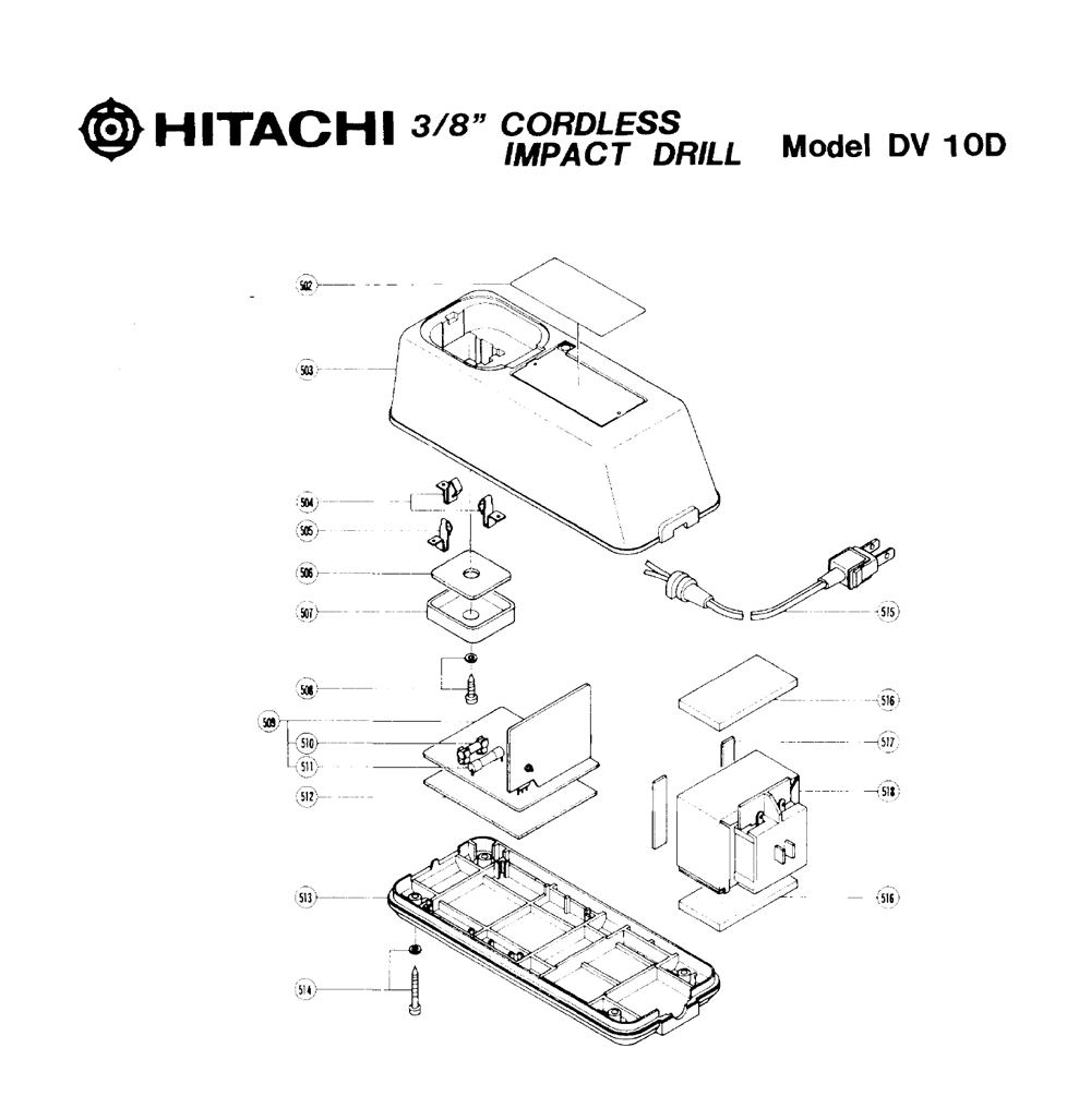 DV10D-Hitachi-PB-1Break Down