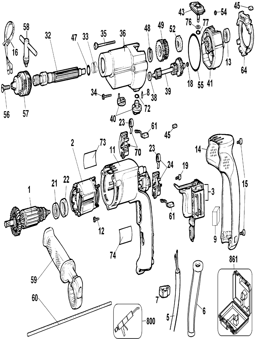dewalt dw515 wiring diagram   27 wiring diagram images