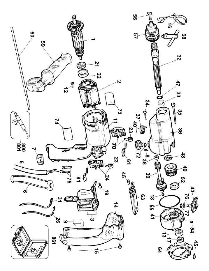 Dewalt 18v Diagram