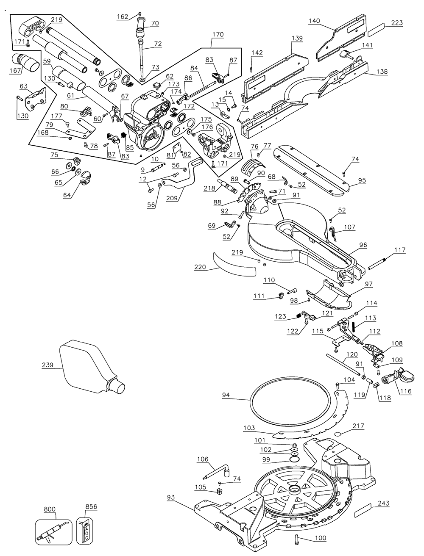 DW718-AR-Dewalt-T1-PB-1Break Down