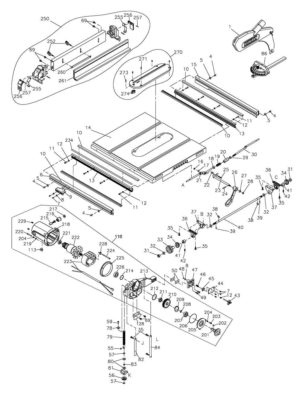 DW745-AR-Dewalt-T3-PB-1Break Down