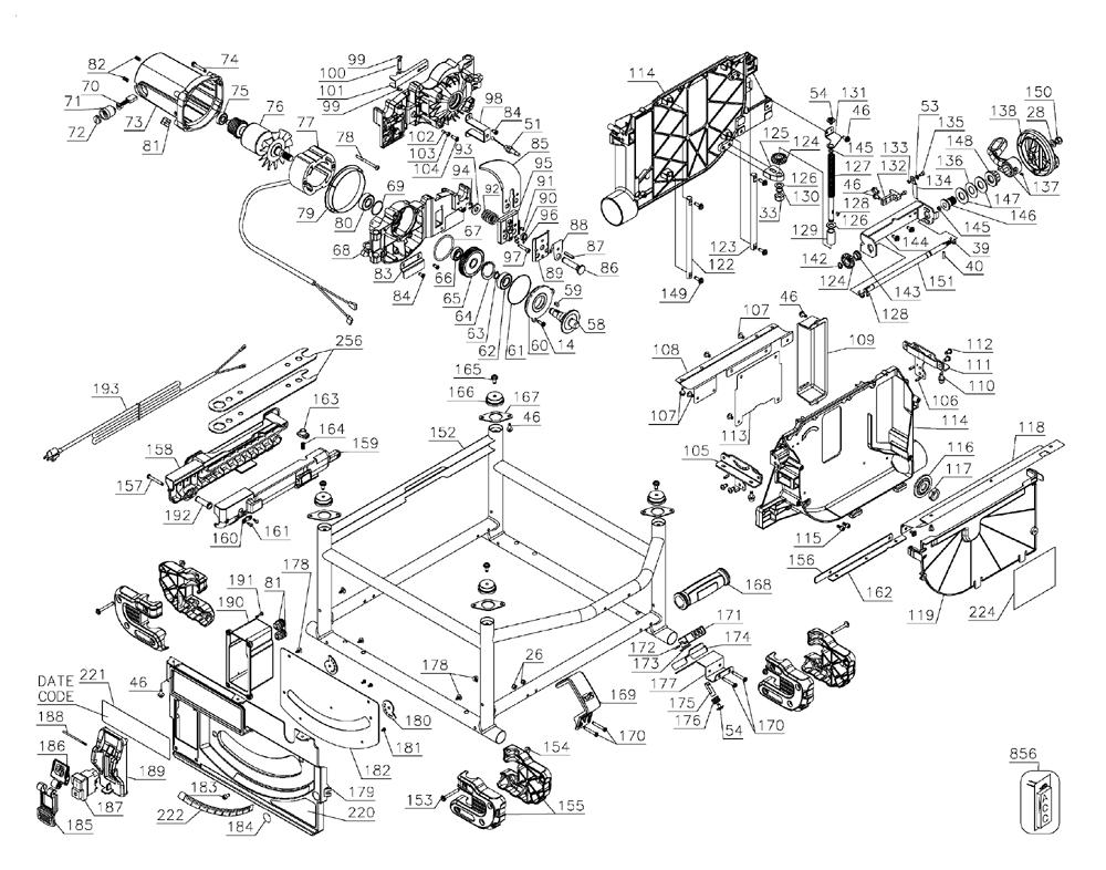 DWE7490X-T1-Dewalt-PB-1Break Down