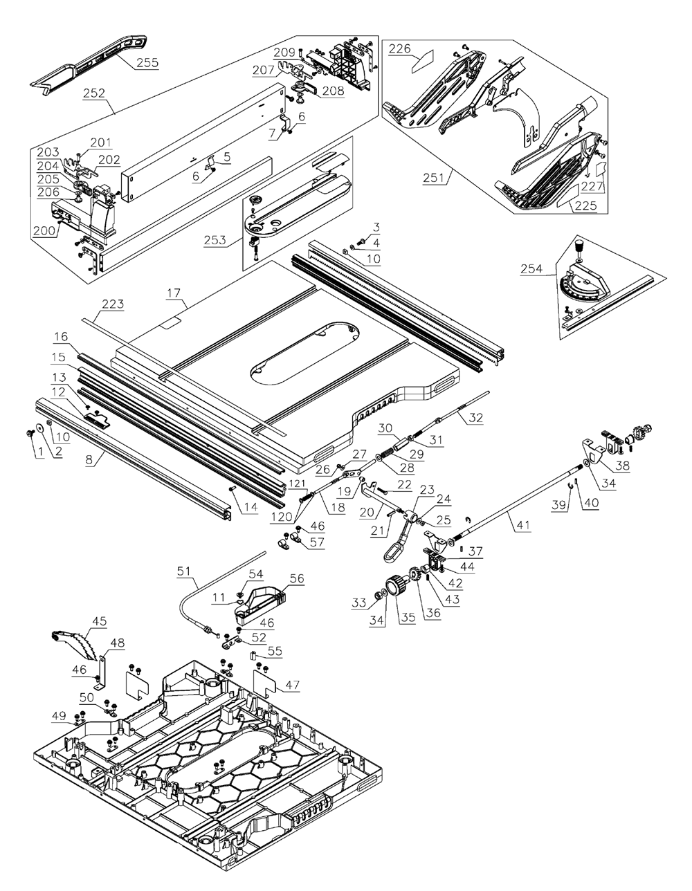 Buy Dewalt Dwe7491rs Type 1 10 Inch Jobsite Table 32 1 2 Inch 82 5cm Rip Capacity