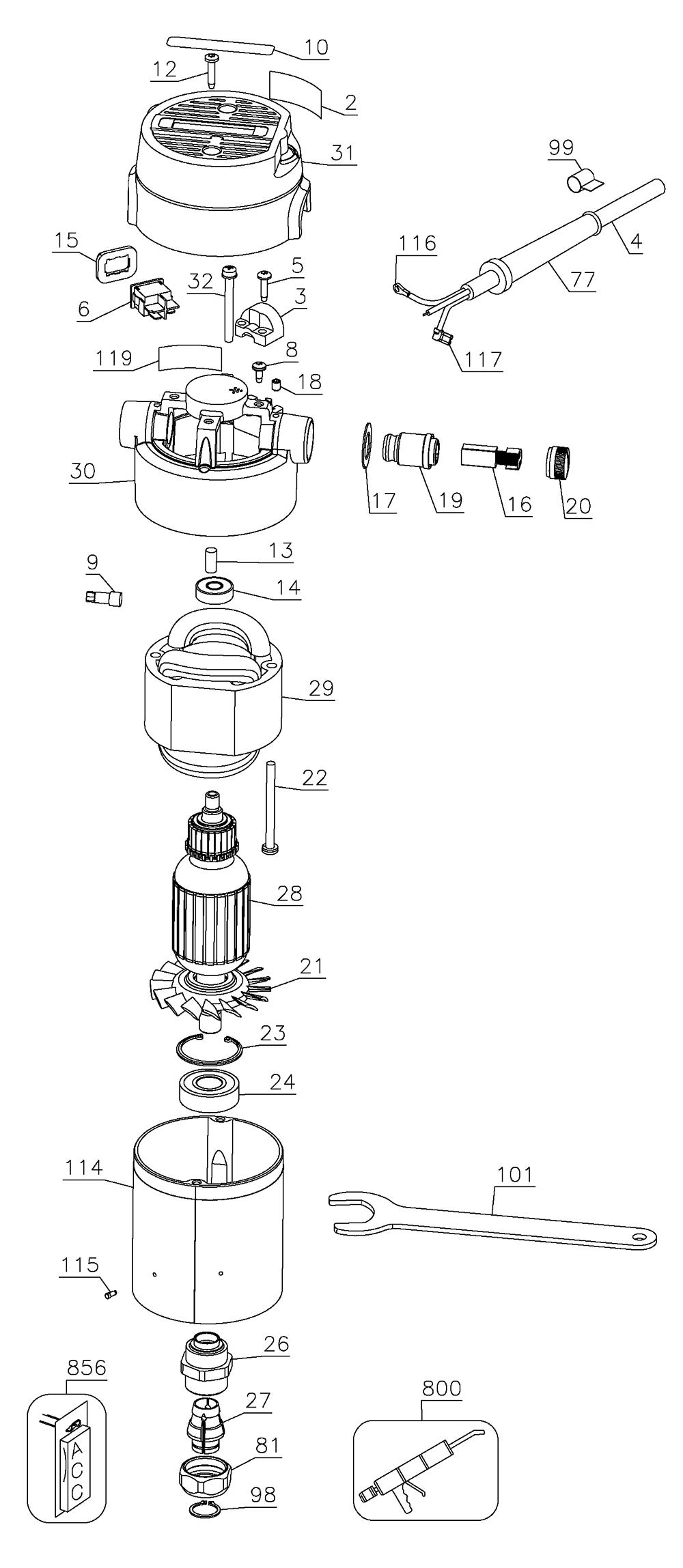 DWP690-Dewalt-T1-PB-1Break Down