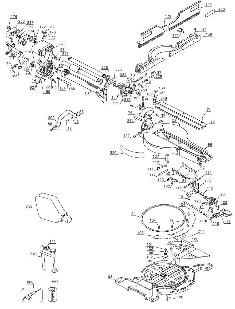 DWS780-AR-Dewalt-T1-PB-1Break Down