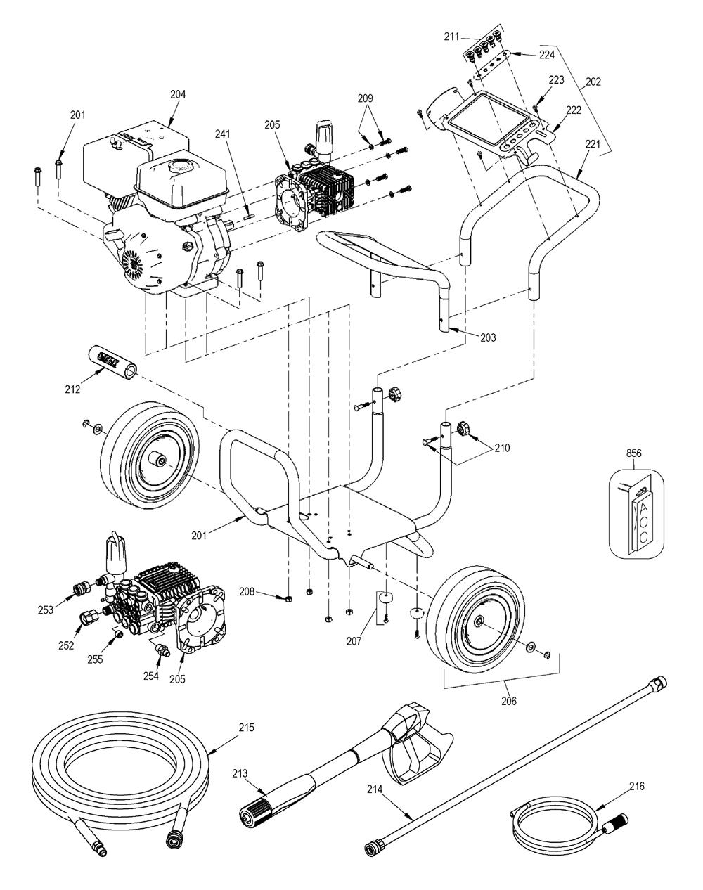 DXPW4240-T0-Dewalt-PB-2Break Down