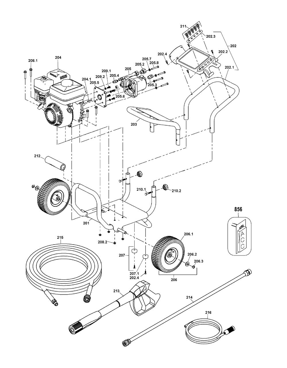 Buy Dewalt Dxpw60603 Type 0 Gas Pressure Washer