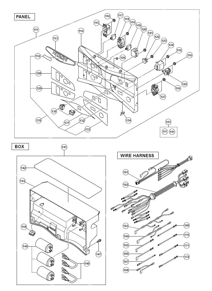 Hitachi-E71-Parts-697-PBBreak Down