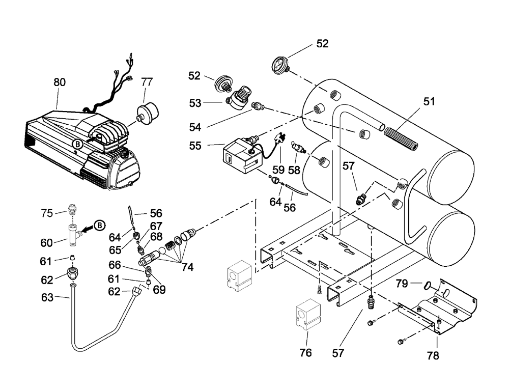 Craftsman 21450244 Floor Jack Parts C 158286 160075 160083 as well 2004 Nissan Xterra Steering Column Wiring Harness besides Harbor Freight Central Pneumatic Parts as well 6 5 Detroit Without Engine Cover moreover Water Pump Mechanical Seal Diagram. on harbor freight vacuum pump