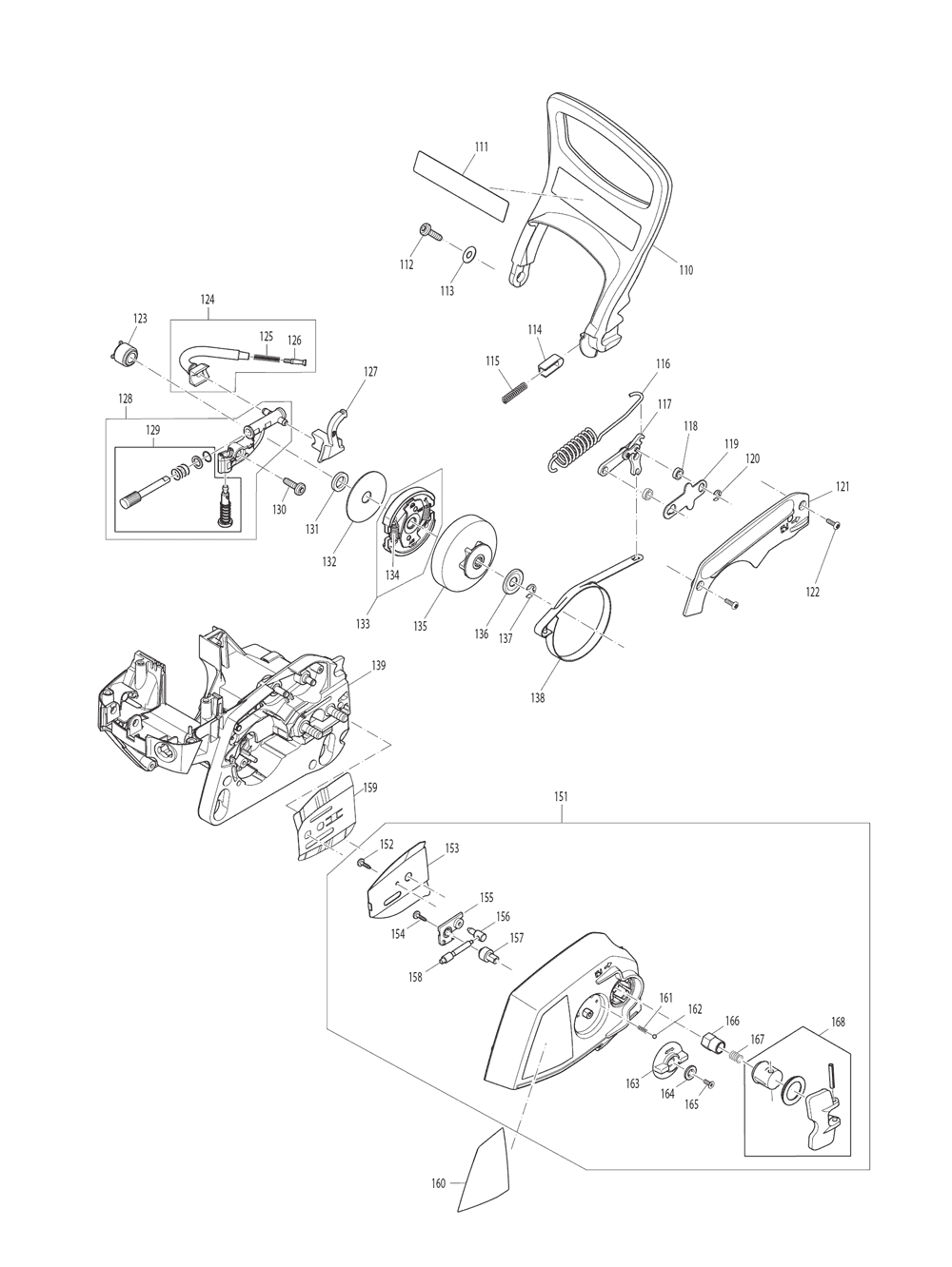 EA3201S40B-T2-Makita-PB-4Break Down