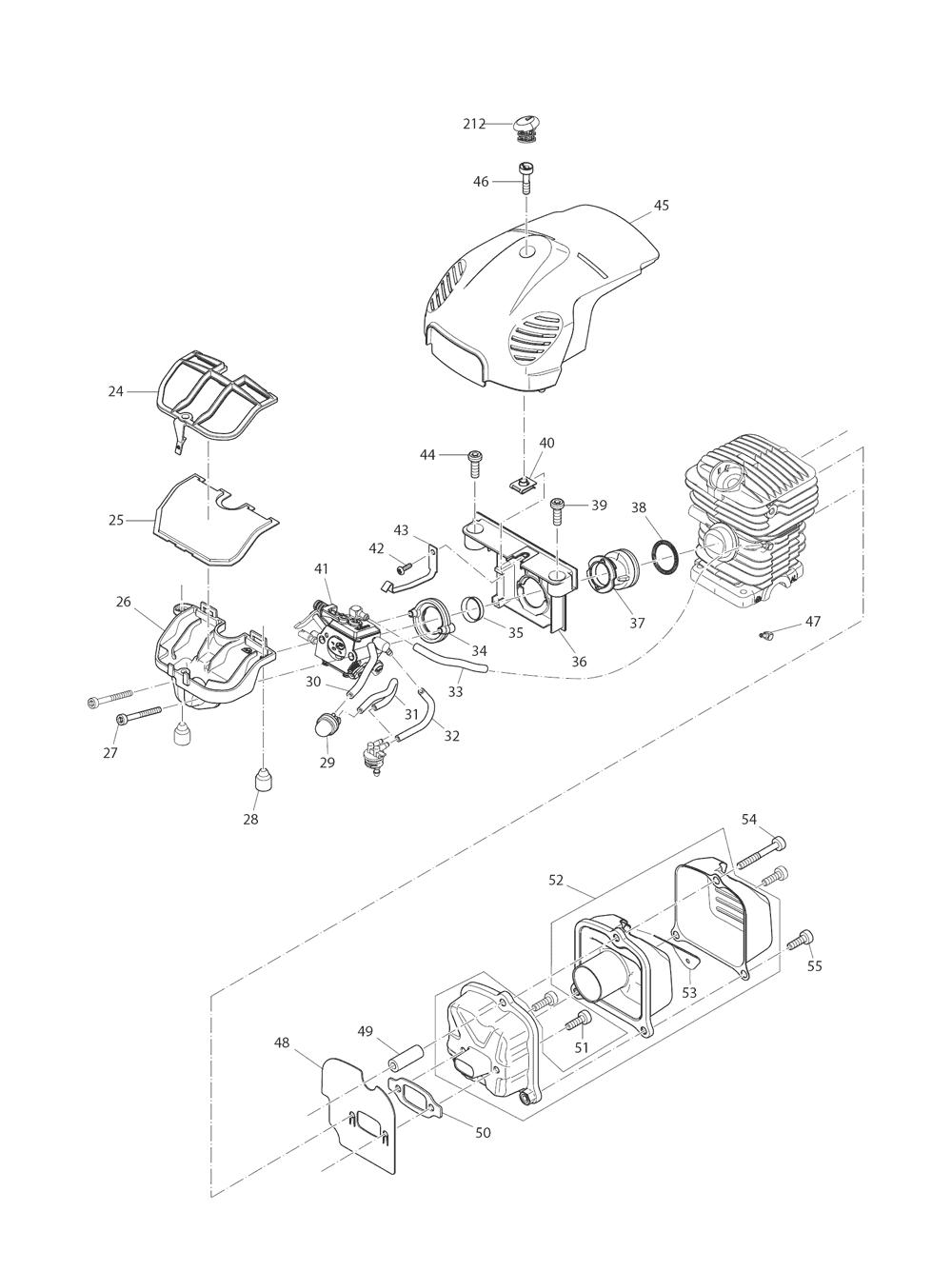 EA3201S40B-T3-Makita-PB-1Break Down