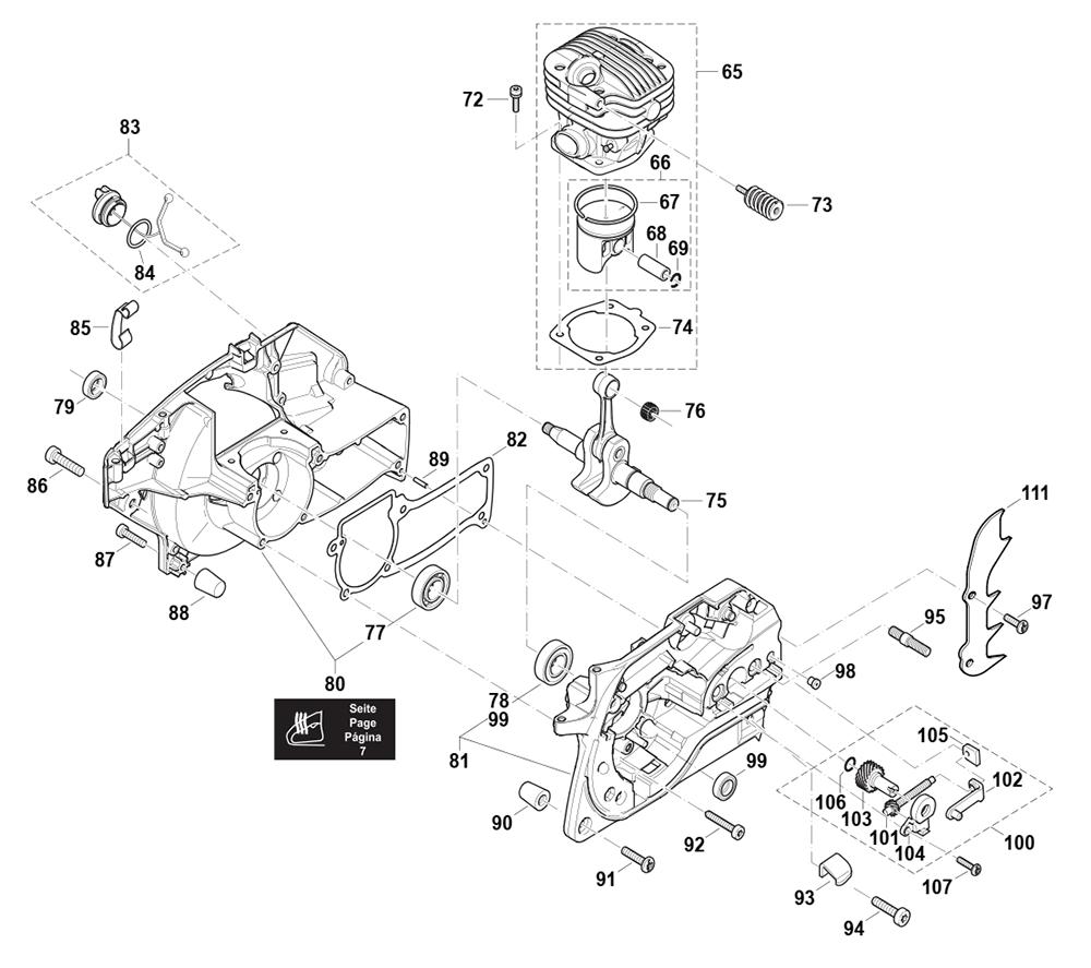 EA5000P53G-Makita-PB-2Break Down