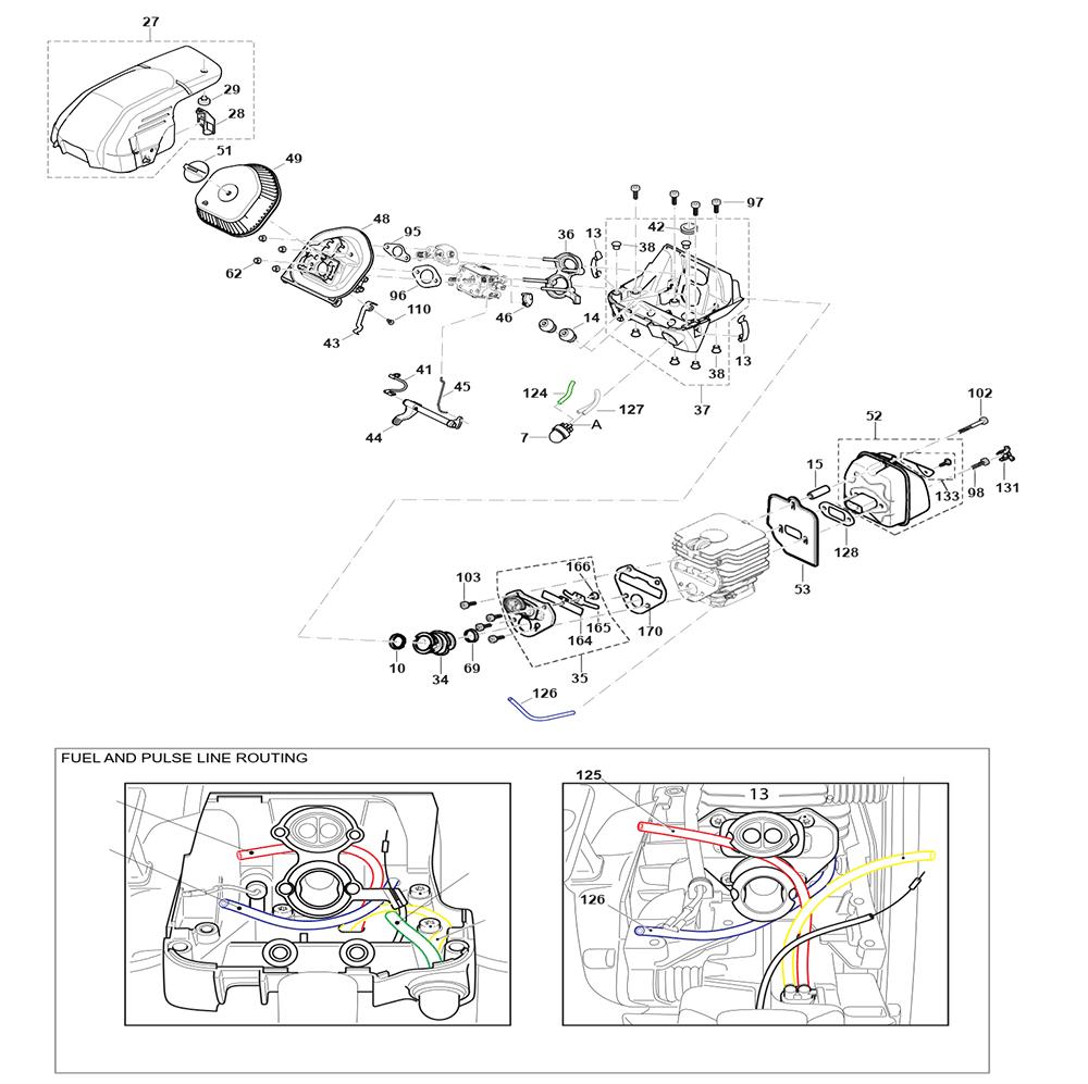 EA6100P53G-Makita-PB-1Break Down