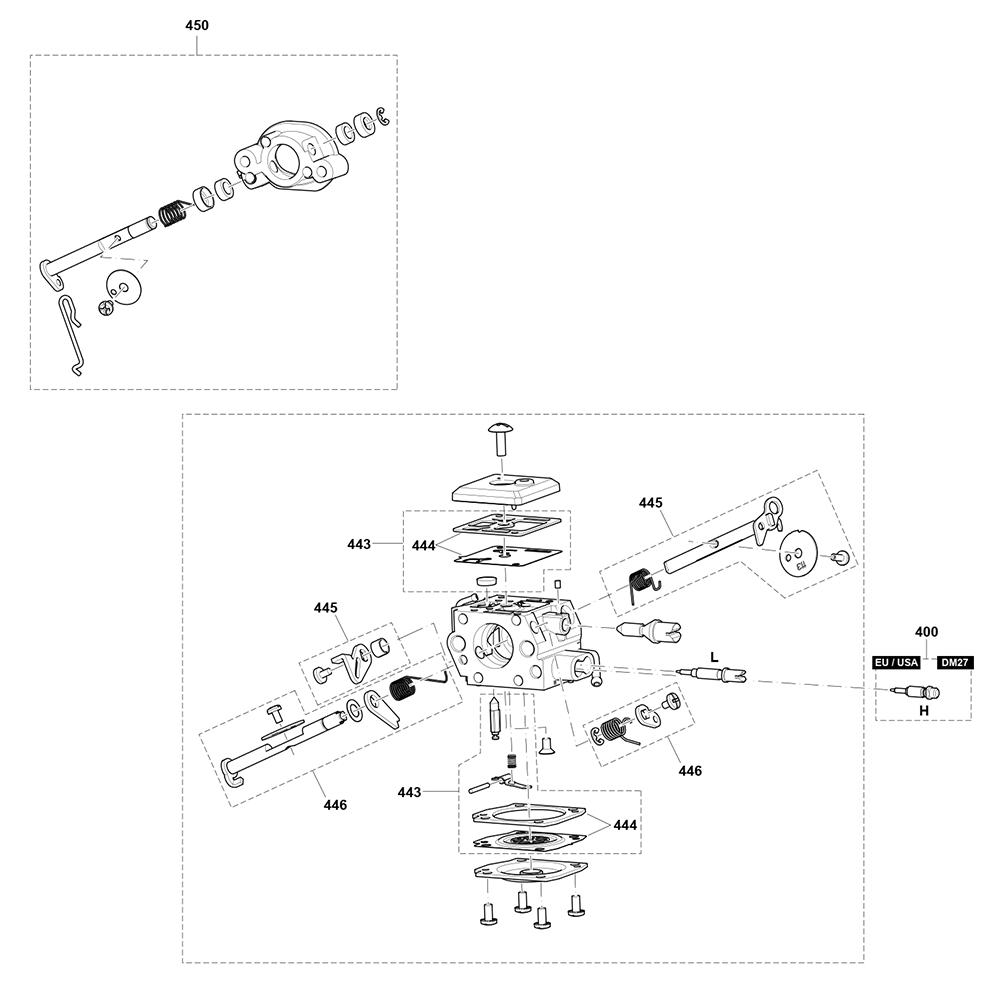EA6100P53G-Makita-PB-5Break Down