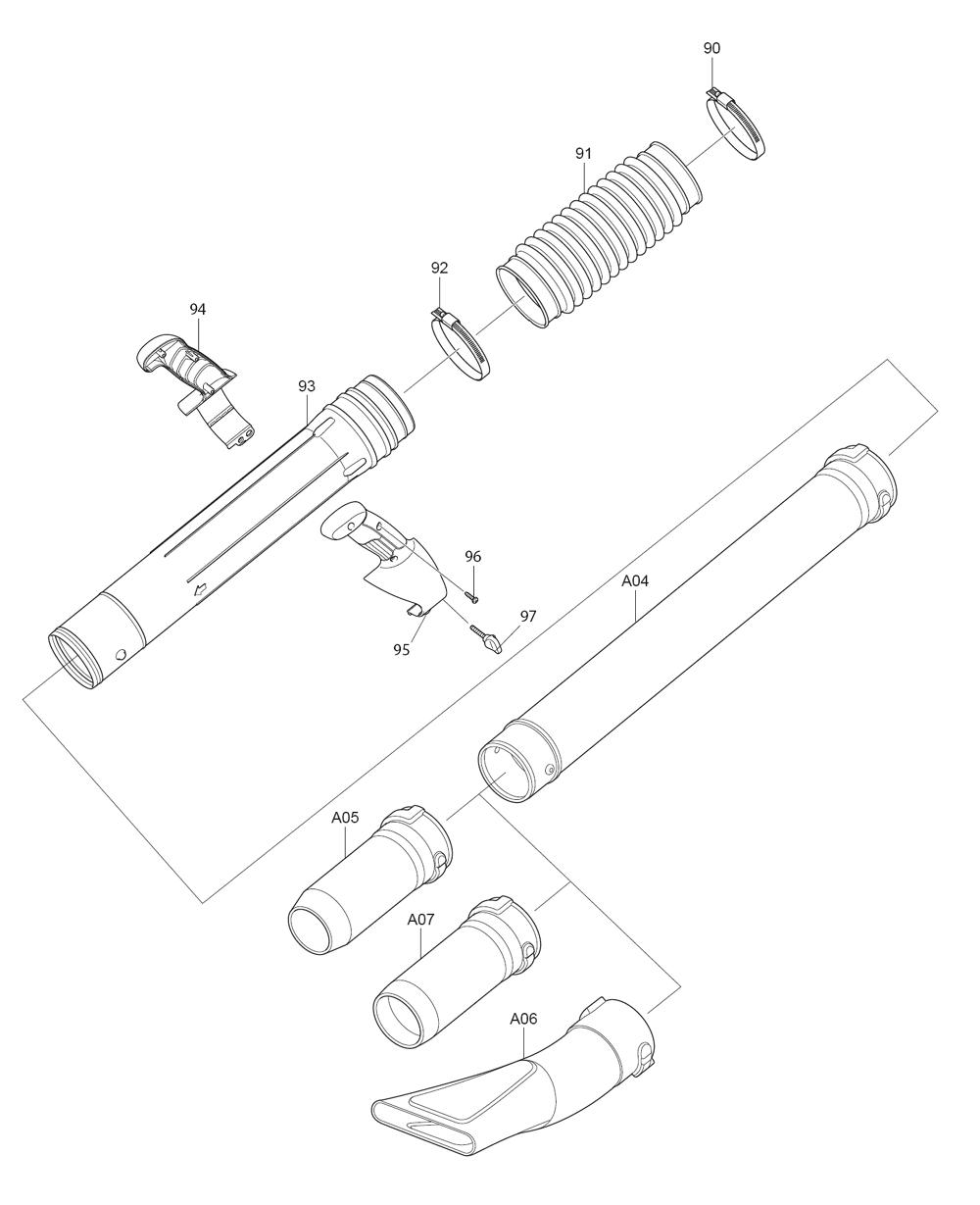 EB7650WH-Makita-PB-9Break Down