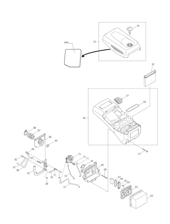 EK7651HD-T2-Makita-PB-1Break Down