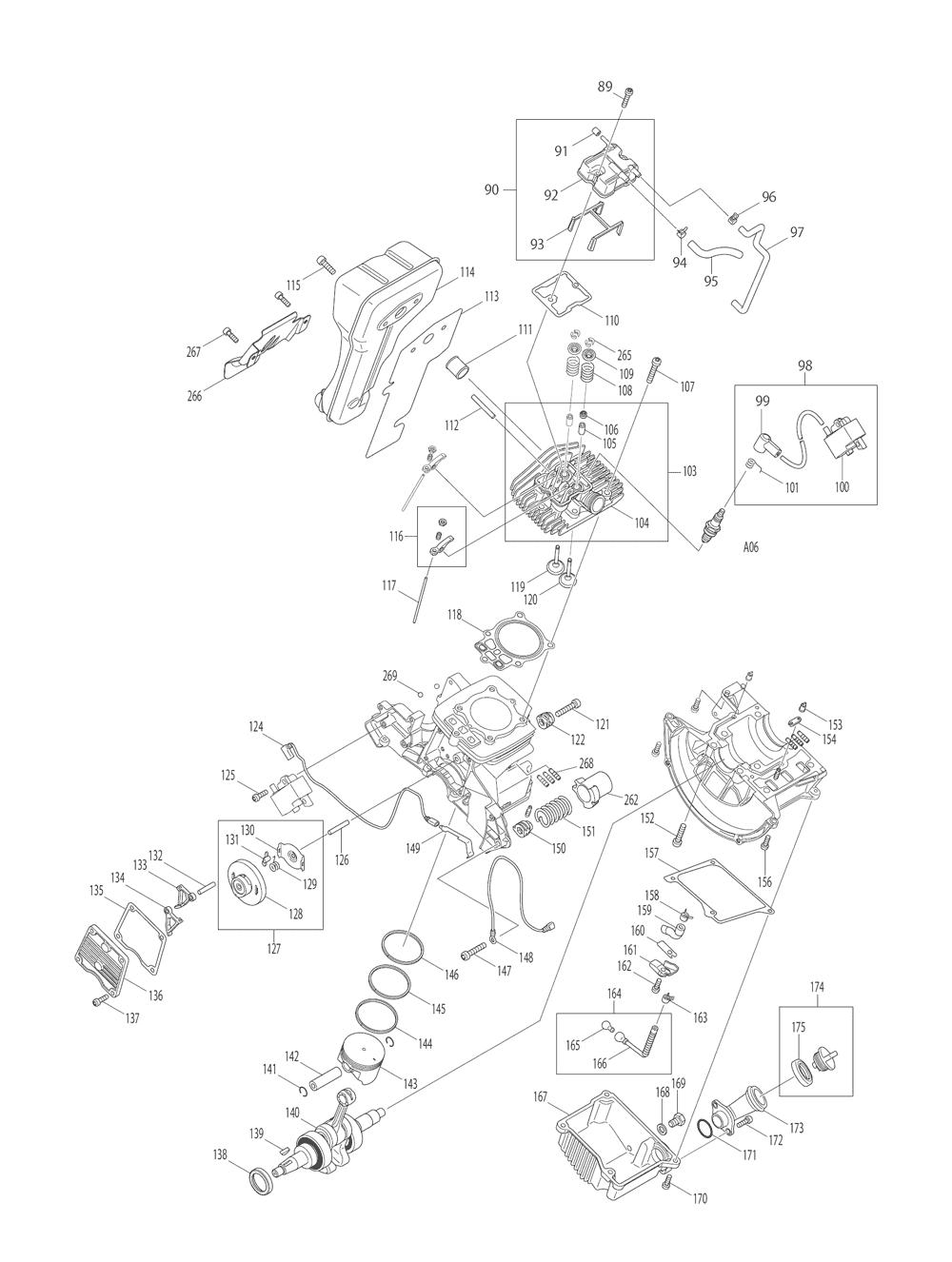 EK7651HD-T2-Makita-PB-2Break Down