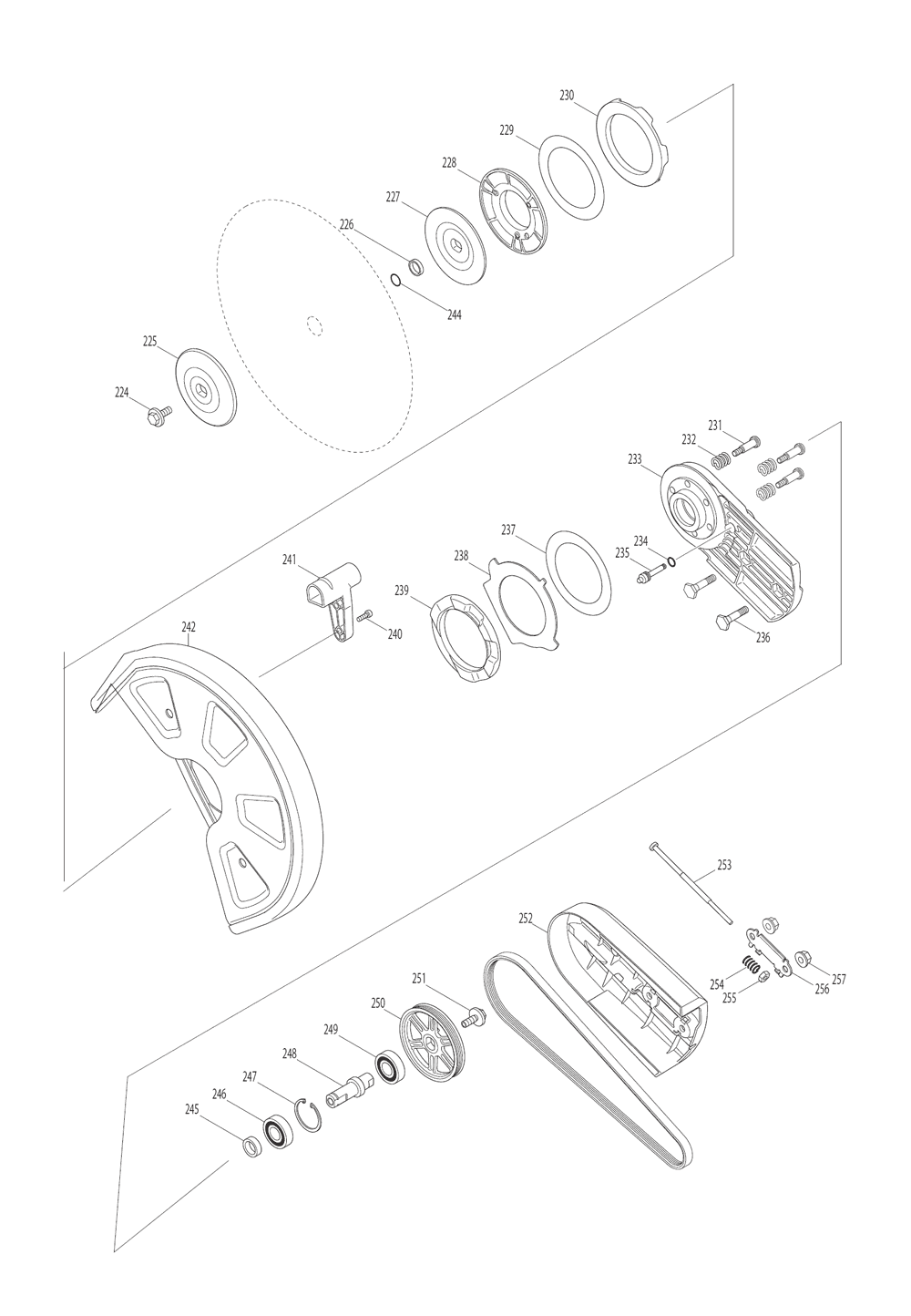 EK7651HD-T2-Makita-PB-4Break Down