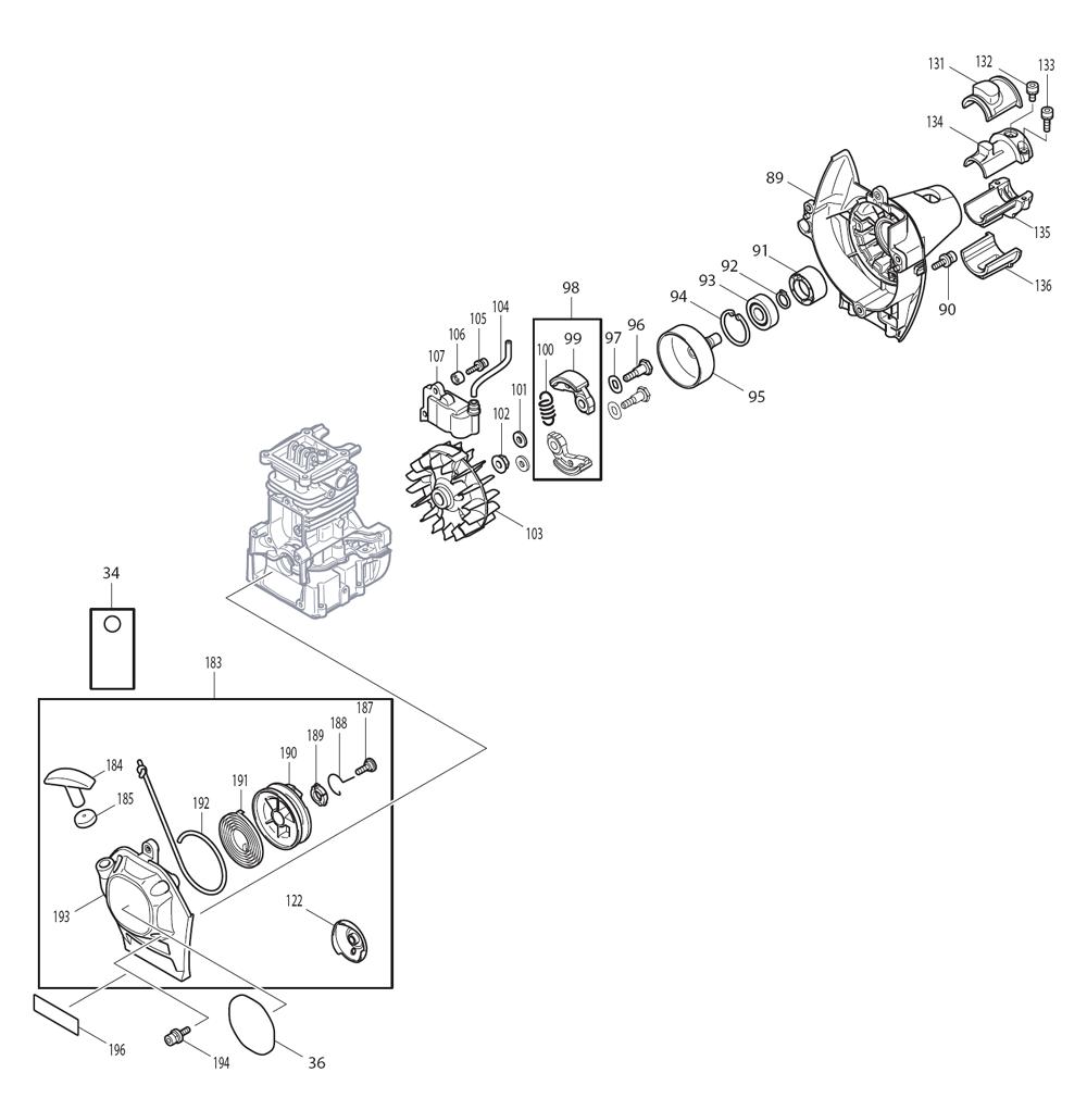 EM2650LH-Makita-PB-3Break Down
