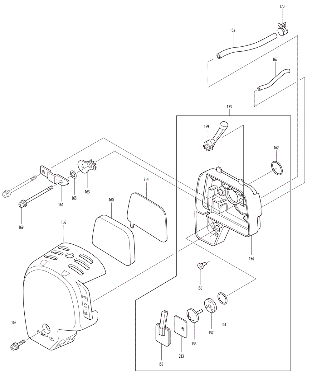 Makita-EM4250CA-532-PBBreak Down