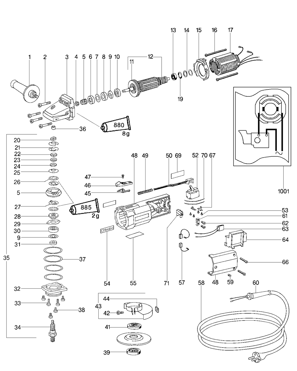 Metabo Wiring Diagram Source Craftsman Skill Saw Parts Replacement On