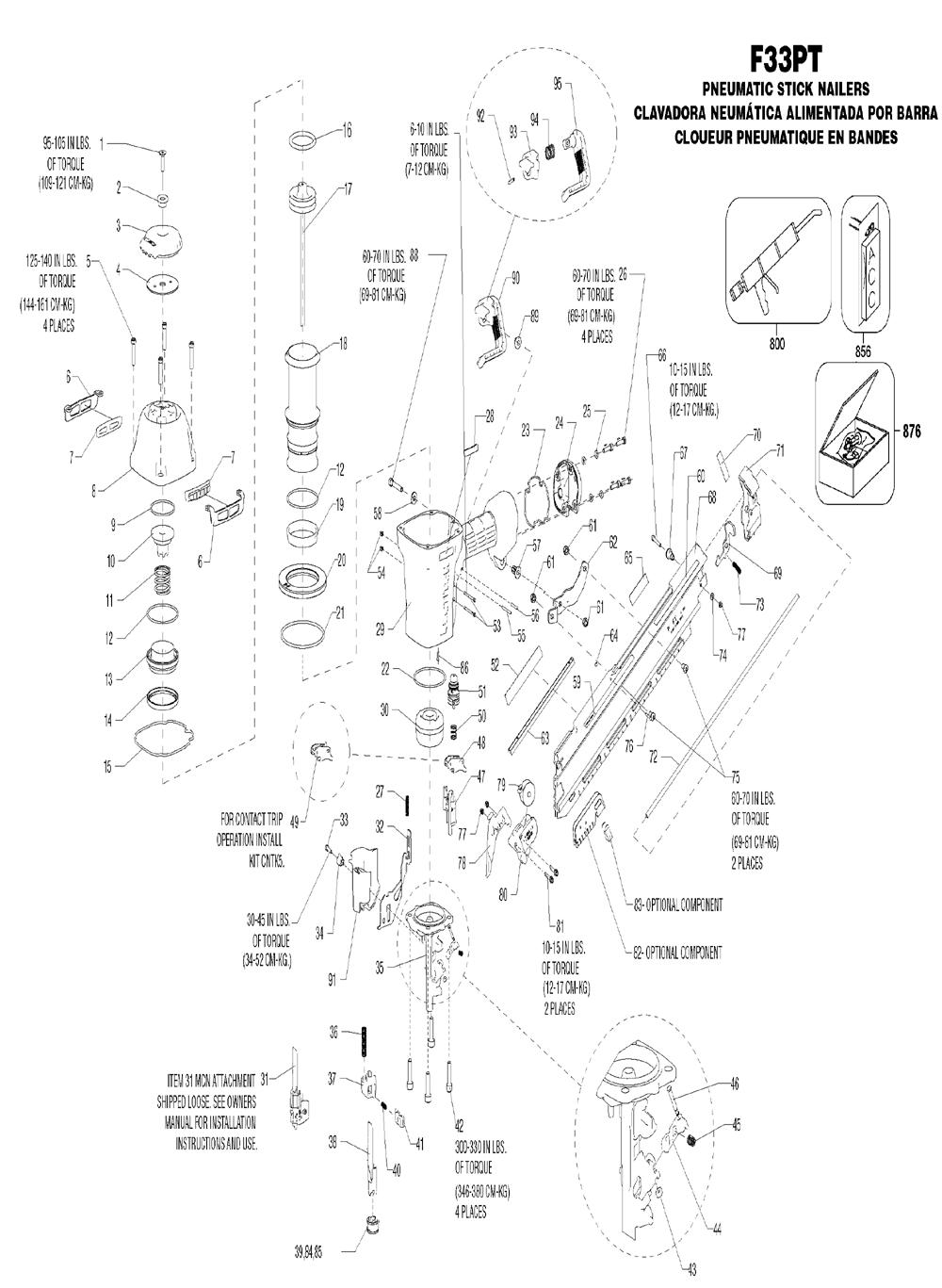 Electric Framing Nailer