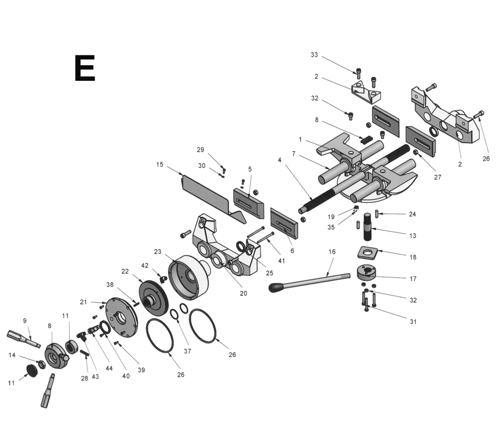 FK350-SX-Wilton-PB-5Break Down