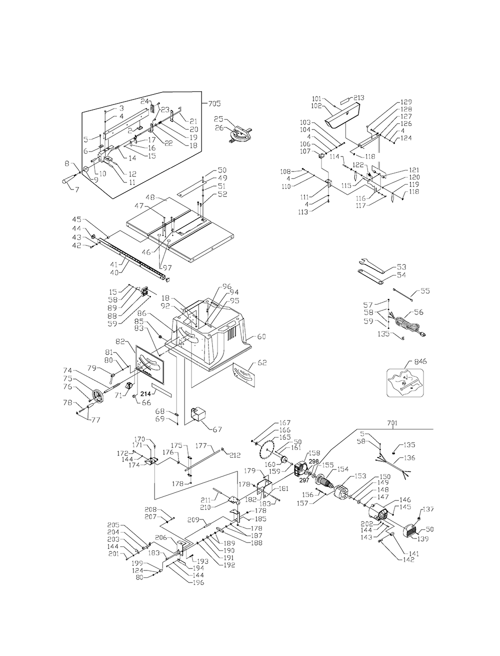 FS210LS-BlackandDecker-T2-PB-1Break Down