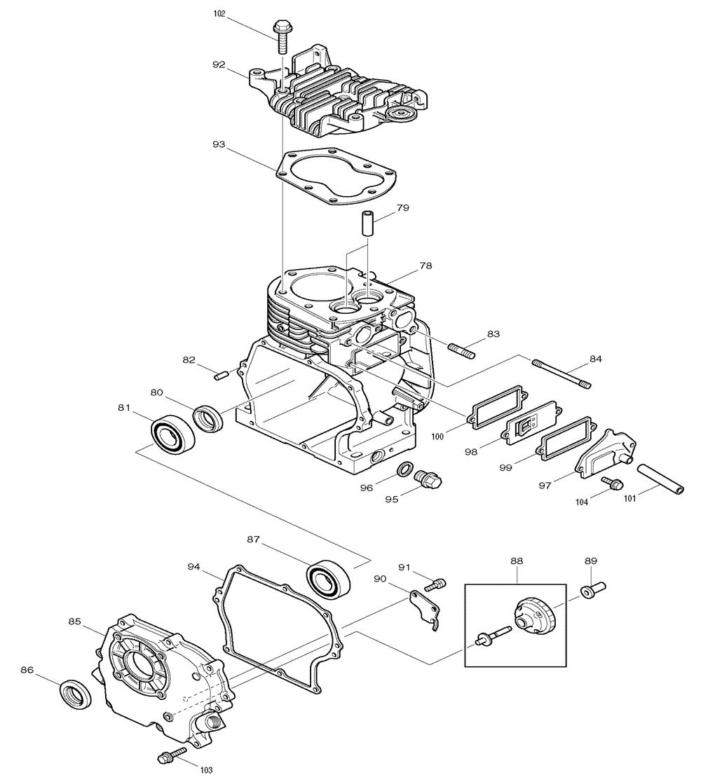Makita-G1300R-86-PBBreak Down