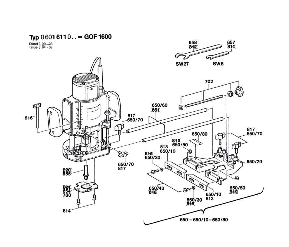GOF-1600-(0601611061)-Bosch-PB-1Break Down