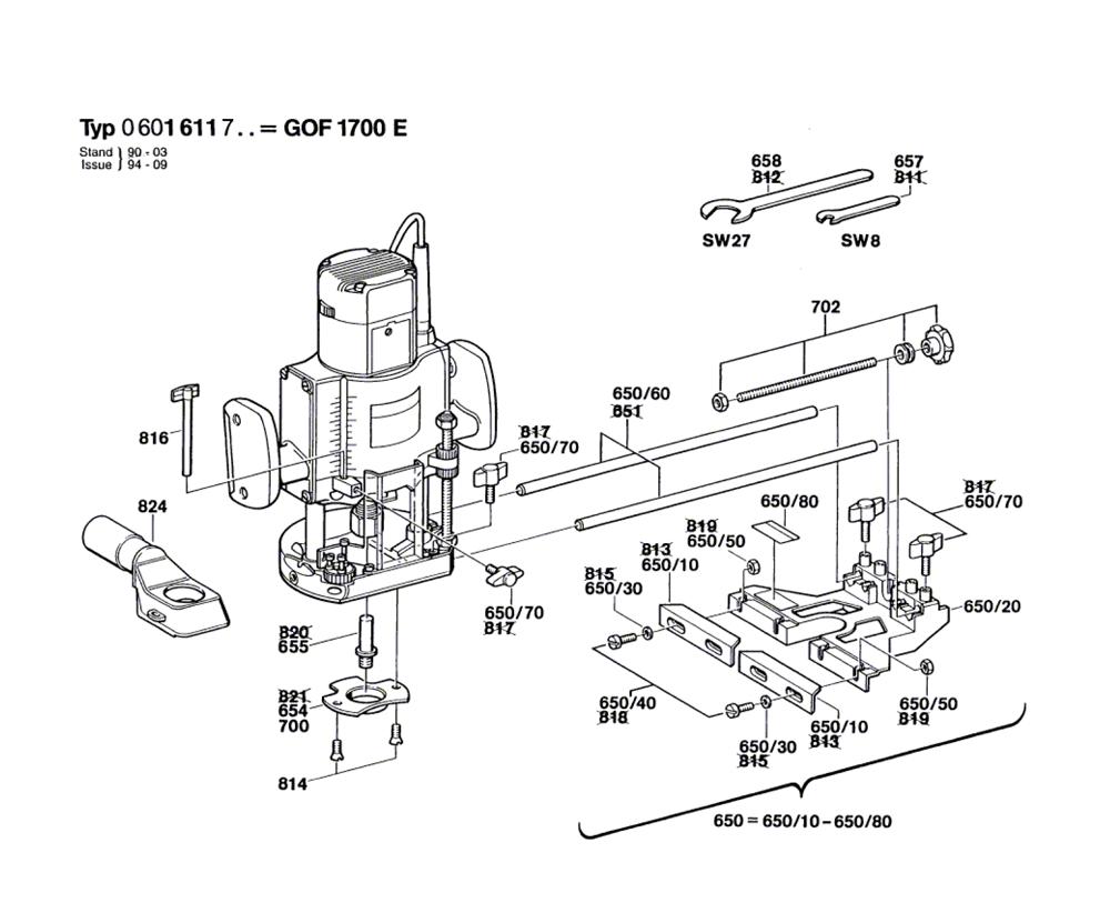 GOF-1700-E-(0601611734)-Bosch-PB-1Break Down