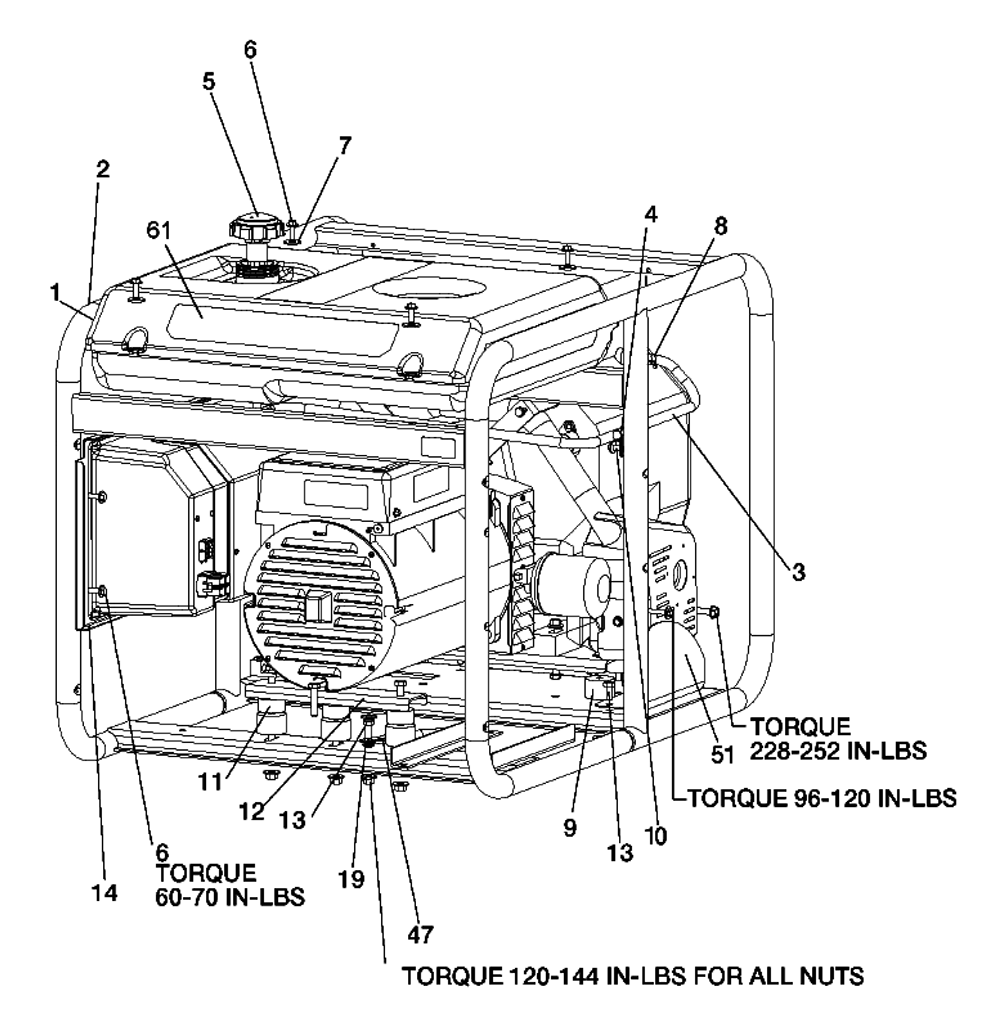 generac 5000 generator wiring diagram