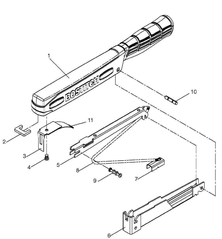 Buy Bostitch H30 8 Type 0 Powercrown Hammer Tacker