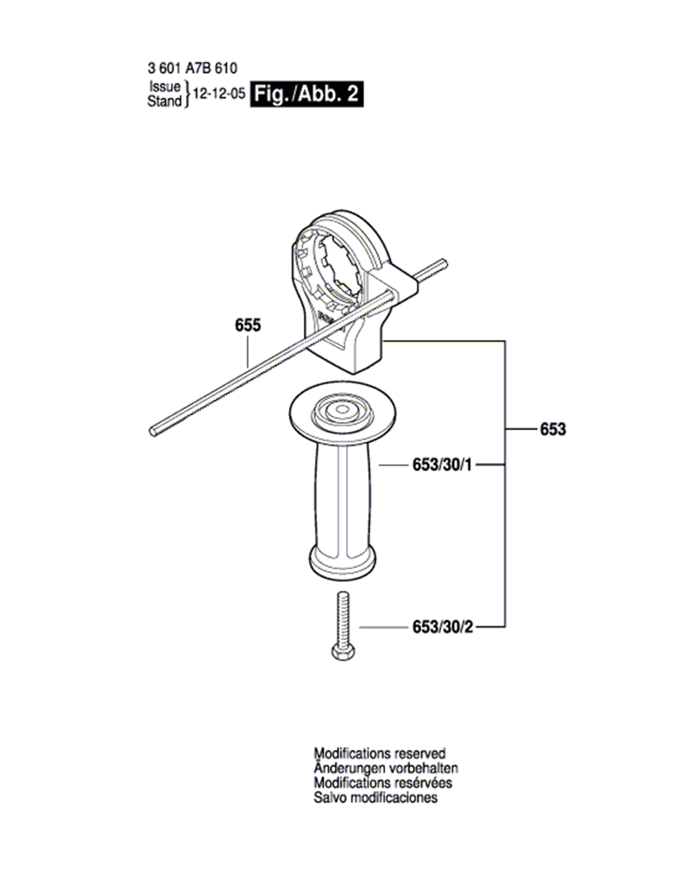 HD19-2L(3601A7B612)-bosch-PB-1Break Down