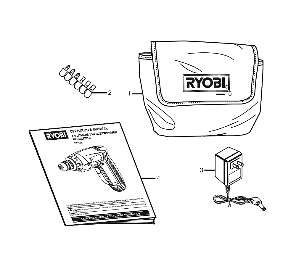 Buy Ryobi Hp41l Replacement Tool Parts