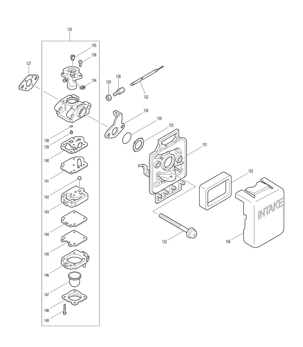 HTR5600-T2-Makita-PB-2Break Down