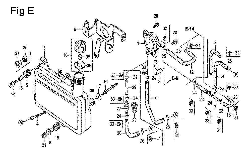Honda Gc160 Engine Parts Diagram