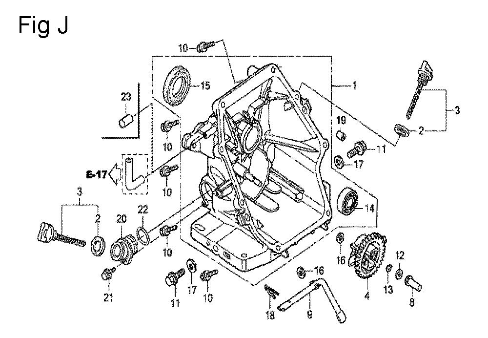 GC160-TSHE-Honda-PB-10Break Down