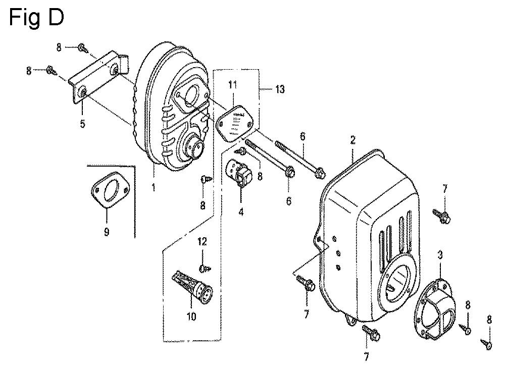 GC160-TSHE-Honda-PB-4Break Down