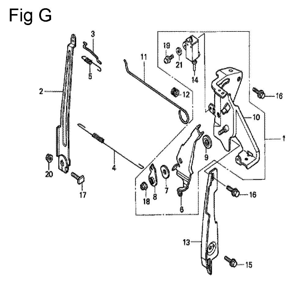 GC160-TSHE-Honda-PB-7Break Down