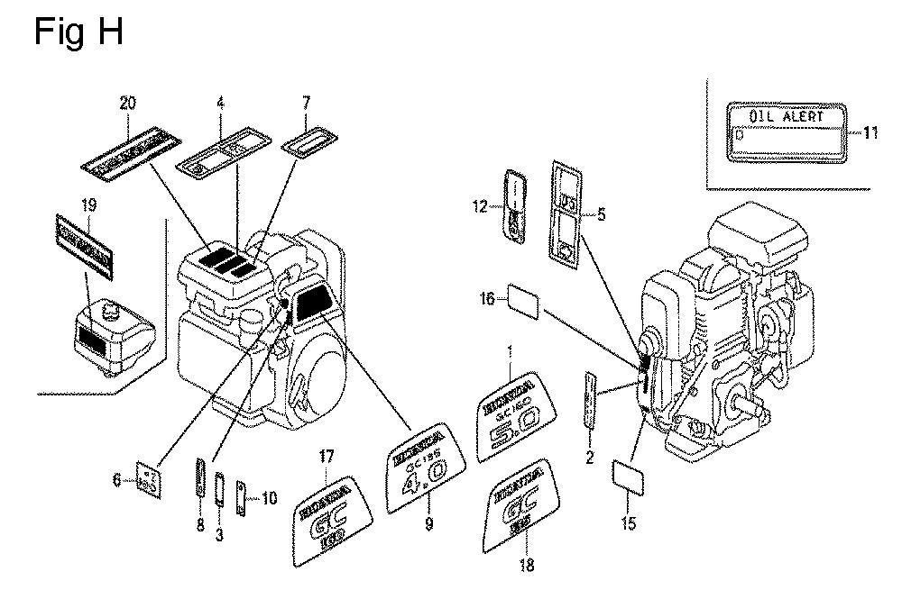 GC160-TSHE-Honda-PB-8Break Down