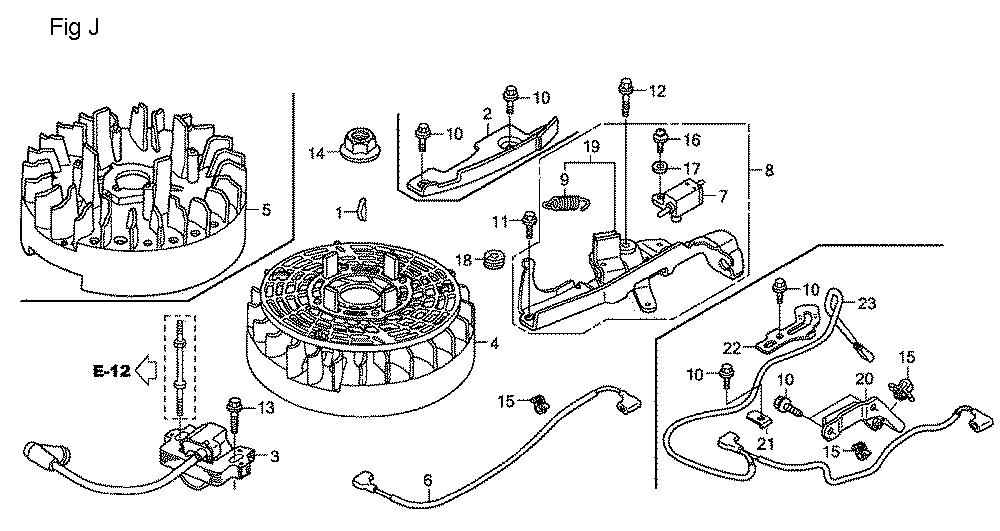 GSV190A-TA1AF-Honda-PB-10Break Down